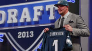 — Lane Johnson's athleticism and high ceiling has him on his way to Philadelphia.