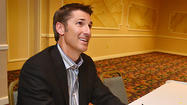 Matt Stover at Steak and Burger Dinner