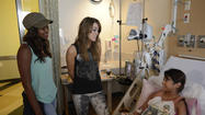 Amber Holcomb and Angie Miller visit Children's Hospital Los Angeles on 'American Idol'