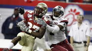 Former Florida State cornerback Xavier Rhodes will call Minnesota home for the foreseeable future, and former Seminoles quarterback Christian Ponder his teammate, once again. Claimed with the 25th overall pick in Thursday's opening round of the NFL Draft, the cornerback was selected by the Minnesota Vikings.