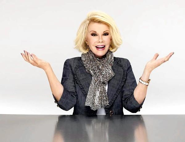 Comedian Joan Rivers performs at Sovereign Center in Reading on April 26..