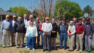 Tree planting contributors recognized