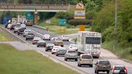 Friday traffic: Lane shut down on I-95N into Baltimore
