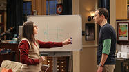 Sheldon Cooper's anguish over a TV series' cancellation was a big ratings winner Thursday nationally and locally.