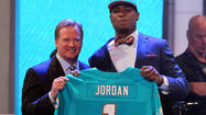 <b>Photos:</b> Dolphins' third overall pick Dion Jordan