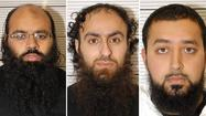 LONDON -- Three men convicted of leading a plot to launch terrorist attacks in Britain to rival the Sept. 11 assault and surpass the 2005 deadly bombings on London's transit system were given sentences Friday ranging from life to 15 years' imprisonment.