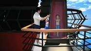 Disney Cruise Line's new Aquadunk water slide