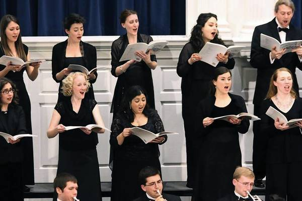 Yale Choral Artists perform Sergei Rachmaninoff's All-Night Vigil on June 21.
