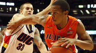 Troubled former Illinois Mr. Basketball Jereme Richmond was ordered back to jail this morning after he was accused of making threats against his probation officer.