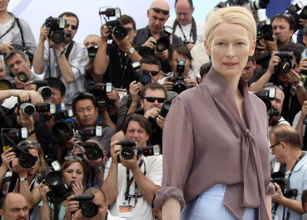 "Tilda Swinton, seen at last year's Cannes Film Festival appearing in support of ""Moonrise Kingdom,"" is set to return this year with Jim Jarmusch's vampire movie ""Only Lovers Left Alive."""