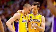 Steve Nash and Jodie Meeks are still doubtful for tonight's game. So are the Lakers' chances of beating San Antonio.