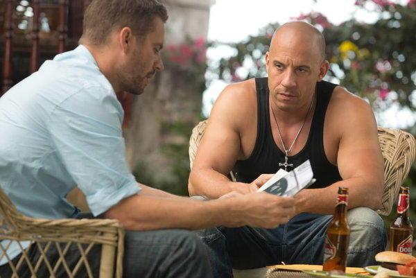 "Paul Walker and Vin Diesel reunite for ""Fast & Furious 6."""