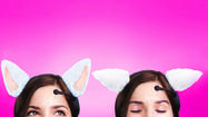 Necomimi cat ears that move to your meow moods