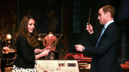 "Prince William, <a href=""http://people.zap2it.com/p/kate-middleton/658067"">Kate Middleton</a> and Prince Harry joined ""Harry Potter"" author <a href=""http://people.zap2it.com/p/jk-rowling/174909"">J.K. Rowling</a> at the Warner Bros. Studio Tour London - The Making of Harry Potter for the Duke of Cambridge's inauguration ceremony for the Leavesden Studios attraction. Also present at the event were ""Harry Potter"" directors <a href=""http://people.zap2it.com/p/david-yates/300982"">David Yates</a> and <a href=""http://people.zap2it.com/p/mike-newell/71911"">Mike Newell</a>, and producer <a href=""http://people.zap2it.com/p/david-heyman/376672"">David Heyman</a>."