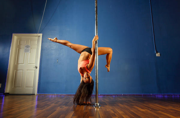 Looking to try pole dancing? Many classes welcome beginners.