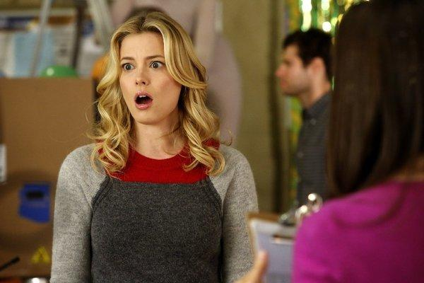 "Gillian Jacobs as Britta on NBC's ""Community,"" which may or may not be coming back this fall."