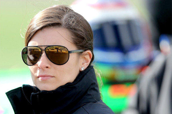"Danica Patrick says she's not bothered by fellow NASCAR driver David Gilliland's comment telling her to ""shut up and race."""
