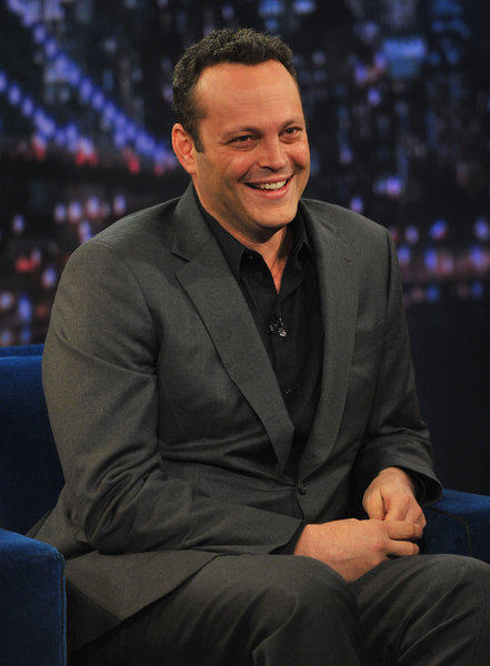 "Vince Vaughn visits ""Late Night With Jimmy Fallon."""