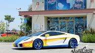 Chris Brown's Lamborghini