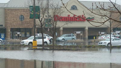 Photos: Flooding in Wheaton, Glen Ellyn