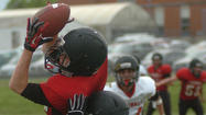 GRCHS Red and White spring football game