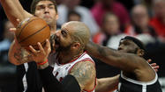 <strong>Carlos Boozer</strong> should have shed his injury-prone label last season, when, despite the frenetic, lockout-compressed schedule, he played in every game for the first time in his career.