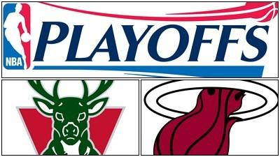For starters: Miami Heat at Milwaukee Bucks