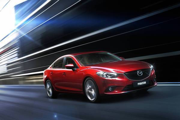 With a fuel economy rating of 26 in the city and 38 on the highway, the Mazda6 — powered by a 2.5-liter, inline four-cylinder engine — is a smidge less efficient than the class-leading Nissan Altima.