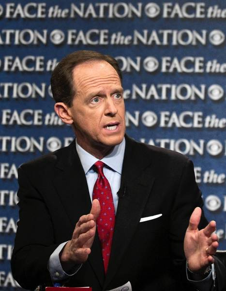 Pennsylvania voters are unhappy the U.S. Senate shot down Pat Toomey's bid to expand gun sale background checks, but credit him for trying, a poll shows.