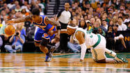 BOSTON -- Carmelo Anthony scored 26 points and Raymond Felton had 15 points with 10 assists, leading the New York Knicks to a 90-76 win over the Boston Celtics on Friday and giving the Knicks a 3-0 lead in their opening-round best-of-seven series.