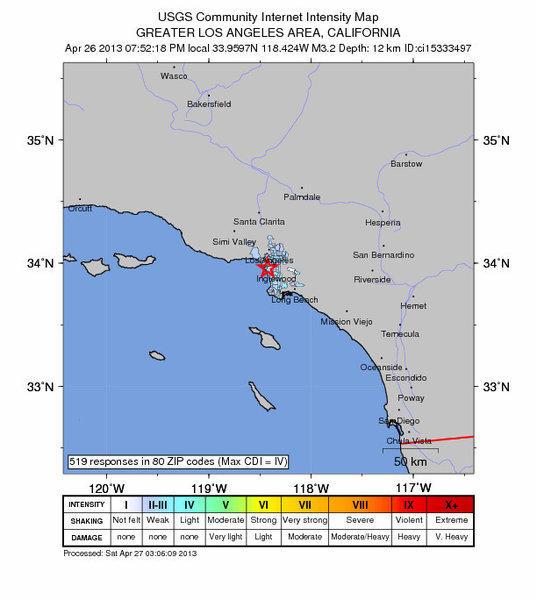 3.2 Marina del Rey quake