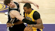 Lakers vs. Spurs, Game 3