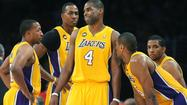 The Lakers guard stepped to the foul line and the familiar chant rose from the Staples Center crowd.