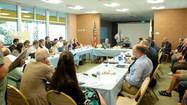 The Salton Sea stakeholders meet with the U.S. Department of the Interior Assistant Secretary Anne Castle.