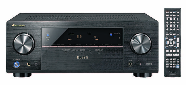 Pioneer Elite VSX-43 A/V Receiver is a fuller-featured, 7.1-channel alternative to the NR1403 for those interested in more functionality beyond good sound and simple operation. (Courtesy )