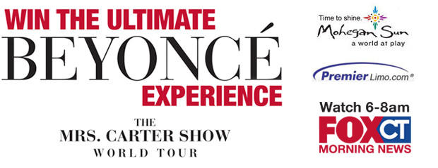Mrs. Carter Show World Tour Starring Beyoncé Ticket Giveaway
