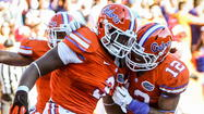 University of Florida linebacker Jelani Jenkins doesn't have to travel far to resume his football career.