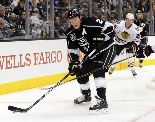 Matt Greene returned to the Kings' lineup last week for the first time since Jan. 19 after injuring his back.