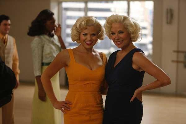 "The ""Bombshell"" team tries to stand out from the competition on a new episode of ""Smash"" on NBC. With Megan Hilty, left, and Kathie Lee Gifford."