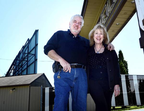 Paul and Susan Geisinger, owners of Shankweiler's, America's oldest drive-in, recently upgraded the theater's projection system to digital.