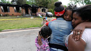 An 11-year-old girl was the sole survivor of a house fire that killed four other children and an adult early Saturday in the western Georgia city of Newnan, about 30 miles southwest of Atlanta.