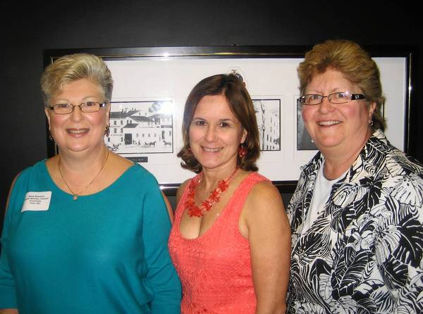 Committee members for the American Red Cross of the Greater Lehigh Valley's 'Caribbean Nights' fundraiser on April 12 at the ArtsQuest CEnter included (from left) Desty Bonstein, the event chair, Marie Arnold and Susan Roth. The event raised $70,000.