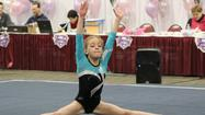 A gymnastics State Meet can be compared to a final exam.  After working hard for months in class to master the material, the exam lasts a few hours at most.  And there is one chance to show what you know.  The Level 6 girls' gymnatics team at Flying High in Countryside have similarly been working on their skills all year, preparing for the final Illinois State Meet the weekend of March 16 at the DuPage Expo Center in St. Charles.