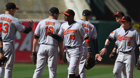 Orioles show struggling A's how to handle jet lag