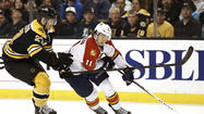 NHL: Florida Panthers at Boston Bruins