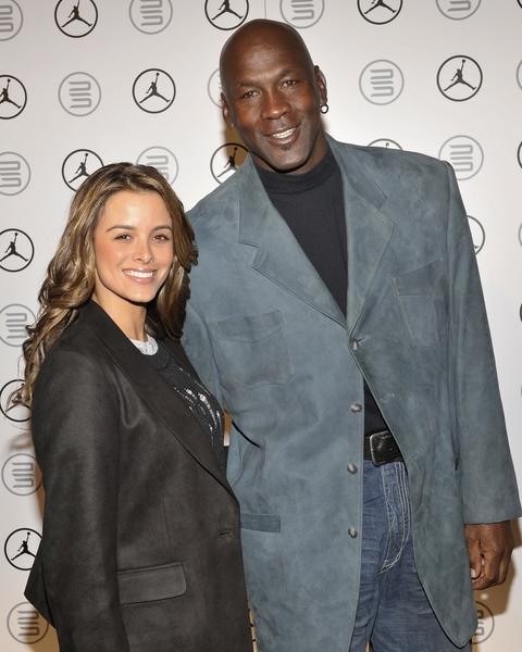 Yvette Prieto and Michael Jordan in 2010.