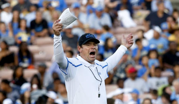 UCLA football Coach Jim Mora will be without the services of defensive back Marcus Rios for six months or more because the player is battling a rare fungus infection.