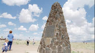 At Trinity Site, varied views of atomic past