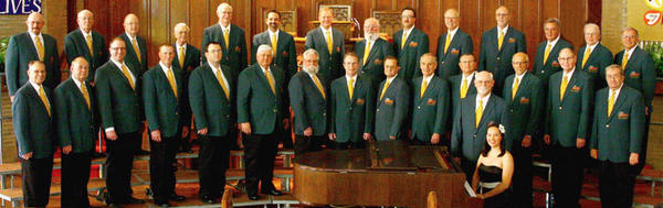 The Aberdeen Area Men's Chorus, shown in a photo taken in 2012, will be performing at First Presbyterian Church on May 5.