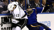 Although the Kings squandered a chance to earn the No. 4 seeding in the West and have home-ice advantage in the first round of the playoffs, they weren't allowing themselves to think of what might have been after they defeated the San Jose Sharks, 3-2, on Saturday to earn the fifth seed and a matchup against the St. Louis Blues.